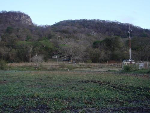 Palo Verde, amanece en los cerros, Feb 2009