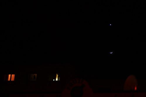 Újhold csillaggal