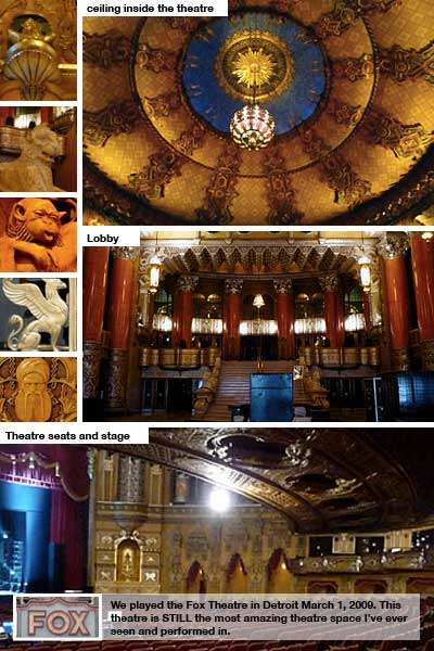 The Fox Theatre: collage