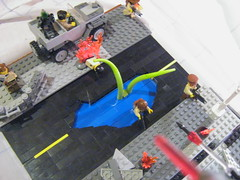 View from the fighter (SoundWavePanda) Tags: lego apocalyps apocalego onemorechanceforfame briackarms