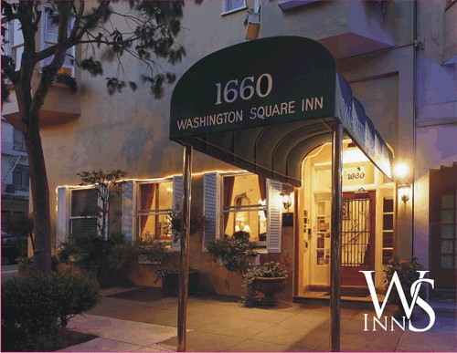 Washington Square Inn night photo