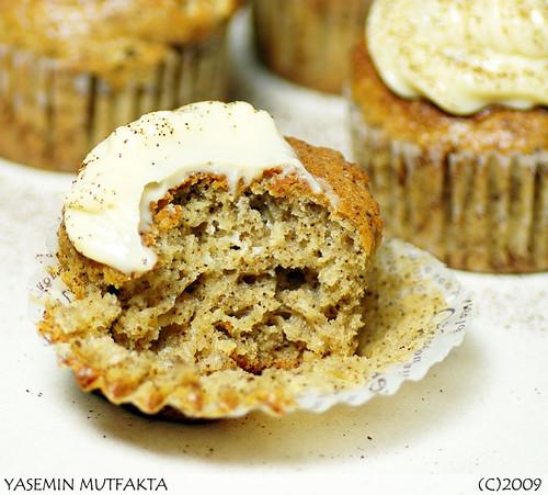 Beyaz Çikolatalı Kahveli Muffin