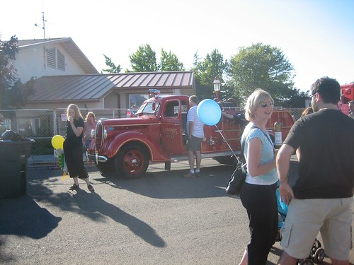 "Firetruck at the ""Bite of Edmonds"""