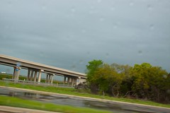 Safe Driving with Cate (catescott) Tags: road trees sky austin highway driving texas tollway approachingstorm