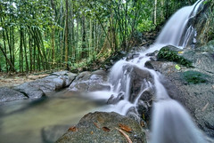 Kemensah Waterfall Part 3 (Firdaus Mahadi) Tags: longexposure morning trees tree nature water rock forest landscape landscapes waterfall scenery rocks air waterfalls views malaysia slowshutter kualalumpur wp kl hdr highdynamicrange batu sejuk hutan pagi alam sceneries pemandangan pokok airterjun photomatix nd8 wilayahpersekutuan neutraldensity kemensah manfrotto055xprob semulajadi tokina1116mmf28 alamsemulajadi 11exposures firdausmahadi firdaus kemensahwaterfall longsexposures