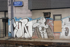 Graffiti Shot VI (Andreas Neustifter) Tags: colour graffiti curtis oebb schnellbahn
