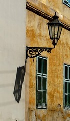 Windows of Zagreb (fede_gen88) Tags: street old windows shadow house lamp walking europe streetlamp croatia zagreb hrvatska republikahrvatska