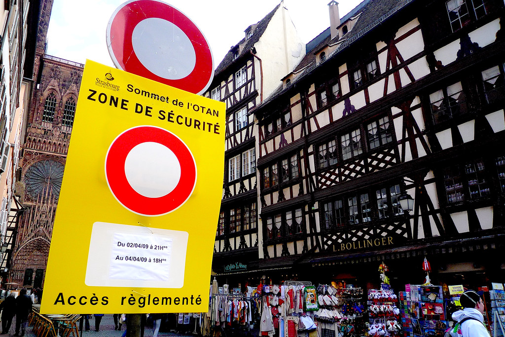 Strasbourg, sommet de l'Otan.