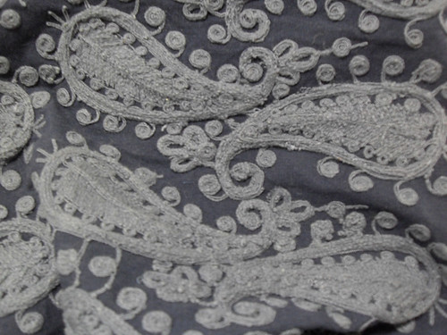 Embroidered Paisley