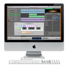 30 - GarageBand 09 on iMac