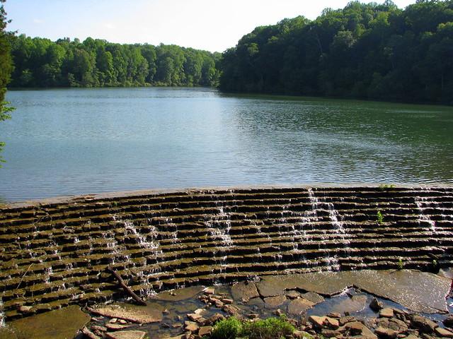 Lake Woodhaven Spillway Dam