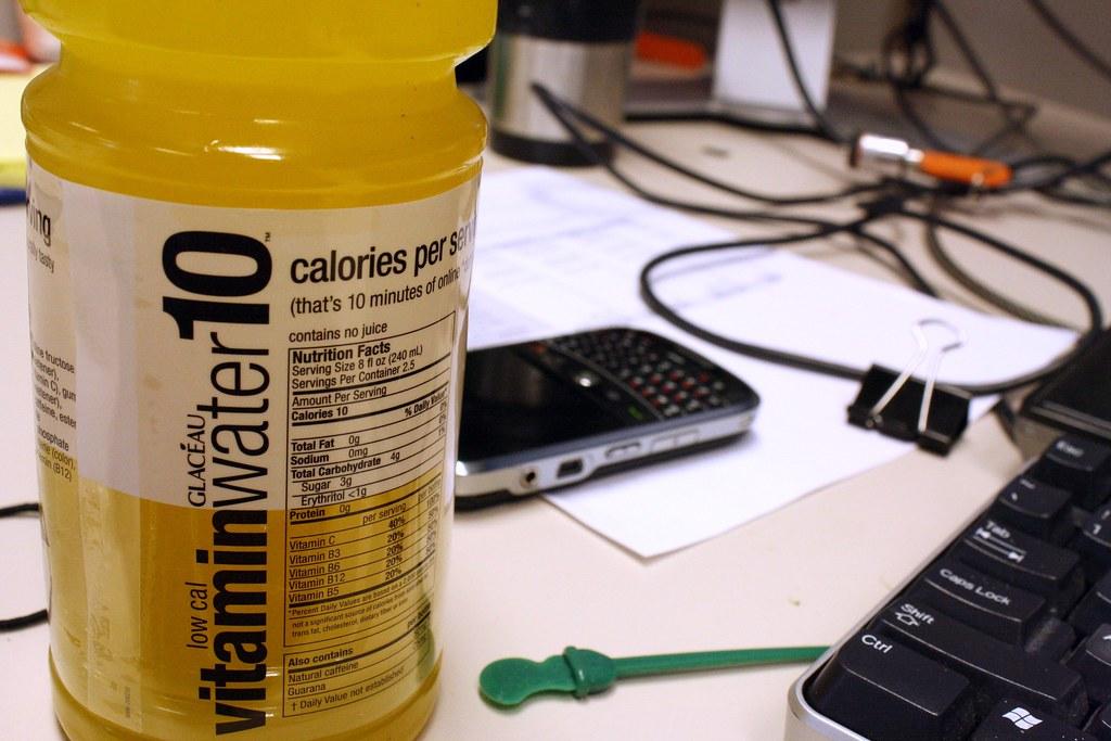 Low Cal Vitamin water, tropical citrus