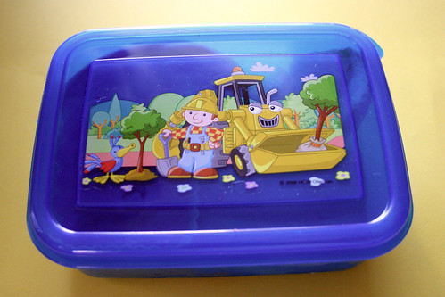 "Bob the Builder ""Bento"" box"