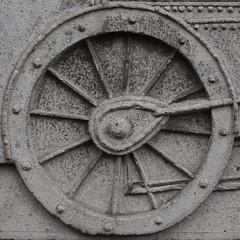wheel (Leo Reynolds) Tags: wheel canon eos 50mm iso400 squaredcircle f80 0008sec 40d hpexif sqnewcastle sqrandom xratio11x sqset036 xleol30x