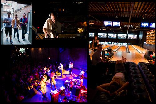 Brooklyn Bowl :: Opening Week Montage