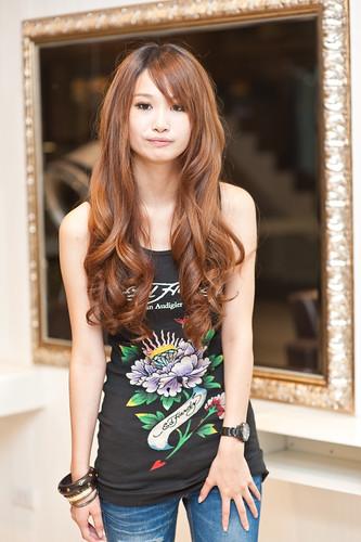 【女生髮型】超長髮電棒大捲
