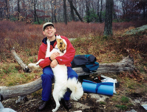 Second backpacking trip to Harriman (1999)