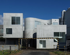 OKURAYAMA APARTMENTS: Kazuyo Sejima, Kanagawa, Nov. 2008 (wakiiii) Tags: japan architecture nikkor 建築 f4 1224 sejima s5 kazuyosejima s5pro nikkor1224mmf4gifed