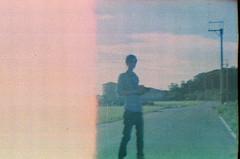 _兩個人的公路電影。 (eliot.) Tags: film minolta taiwan 台灣 agfa eliot agfavista200 himatic7s 苗栗縣 公路電影 債,負累 因,果