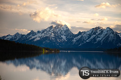 As The Sun Sets (Theodore A. Stark) Tags: nature june clouds canon wildlife wyoming gps tetons jacksonlake grandtetonsnationalpark 5dmarkii theodoreastark tedstark