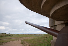 Aimed to the sea (stg_hu) Tags: france pentax battery artillery normandie normandy dday 2009 longuessurmer