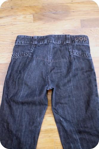 New pocketless jeans! :)