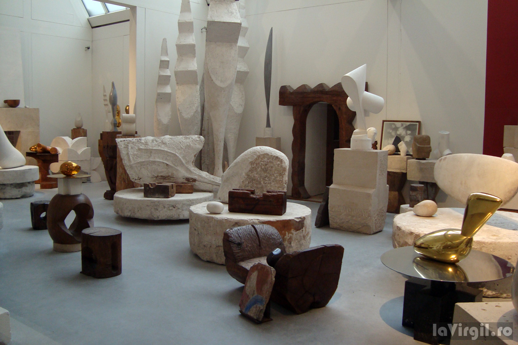 Paris: Atelierul lui Brancusi | La Virgil .ro