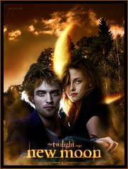 Twilight - New moon (gorigo) Tags: new moon poster twilight woods vampire edward bella saga blend crepsculo gorigo goripanda