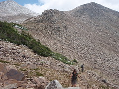 heading up towards paintbrush divide (audrey_hagen) Tags: tetons cascadecanyon paintbrushcanyon