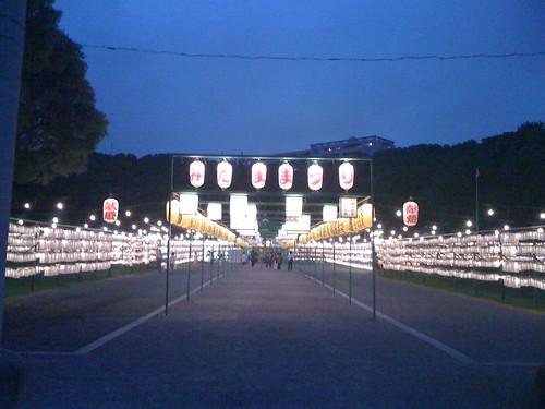 mitama matsuri festival @ Gokoku Jinja shrine