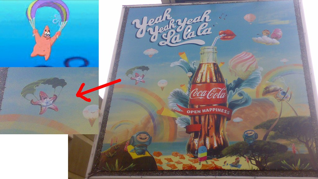Coca Cola Advert rips off Spongebob
