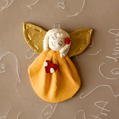 orange little angel with a heart (Stylishornaments and Crafts) Tags: birthday christmas flowers wedding red summer orange baby white flower art shop wall angel shower big wings paint acrylic child forsale sale room crafts wing graduation craft wrap business ornament ornaments angels gift embellishment buy present accessories etsy bridal custom technique babyshower holder accessory decoupage stylishornaments