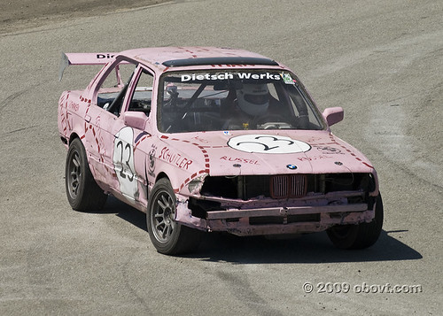 Pink Pig at ButtonWillow