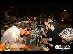Families of prisoners in Evin Prison spent the first day of Ramadan behind the walls of Evin...Hopefully, they all will be released soon...:( (Protest in Iran) Tags: evin
