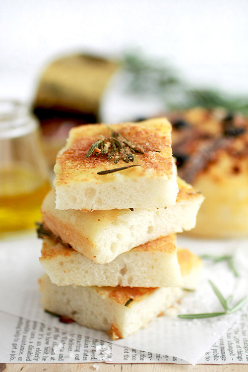 Rosemary & Garlic Oil Flatbread