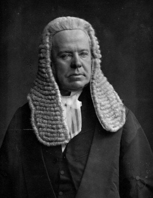 Hardinge Stanley Giffard, 1st Earl of Halsbury PC, QC (1823-1921)