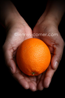 Project 365: Want an Orange?