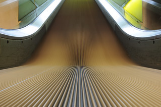 just a classic escalator test shot, with my new 20/2.8 lens