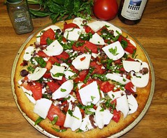 Gluten Free Uno Style Pizza with buttery crust! 3903766441_d1cca74379_m