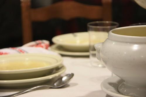 Jamón de Jabugo · Sopa de Fideos