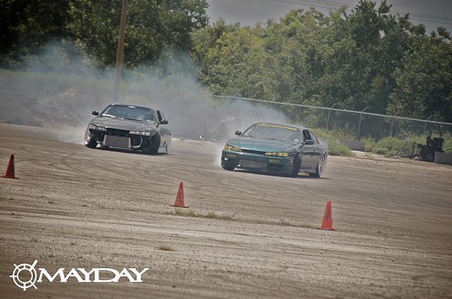 Tandem for two: a pair of kouki 240s going at it