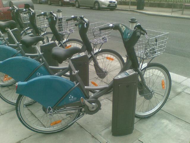 Dublin city bikes by convex02l