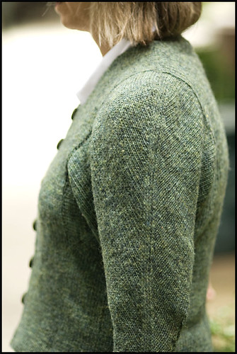 EZ's Green Sweater