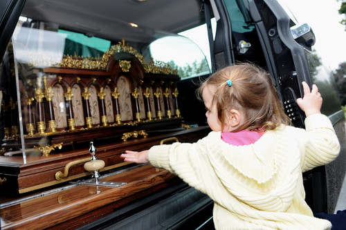 The relics of St Thérèse of Lisieux travelled through Eurotunnel and arrived in Kent today for an historic first visit to England and Wales by Catholic Church (England and Wales).