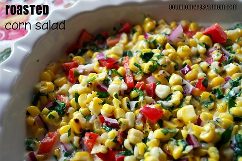 roasted corn salad - Page 358