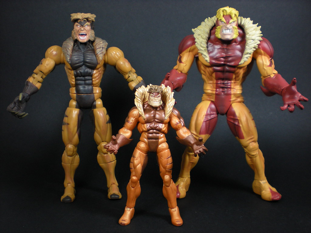 Sabretooth comparsion