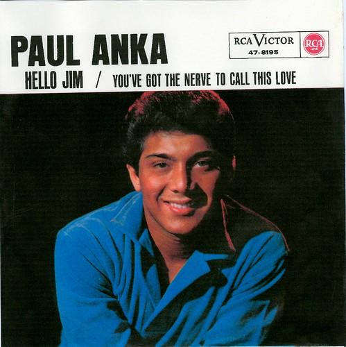 20 - Anka, Paul - Hello Jim.- D - 1963