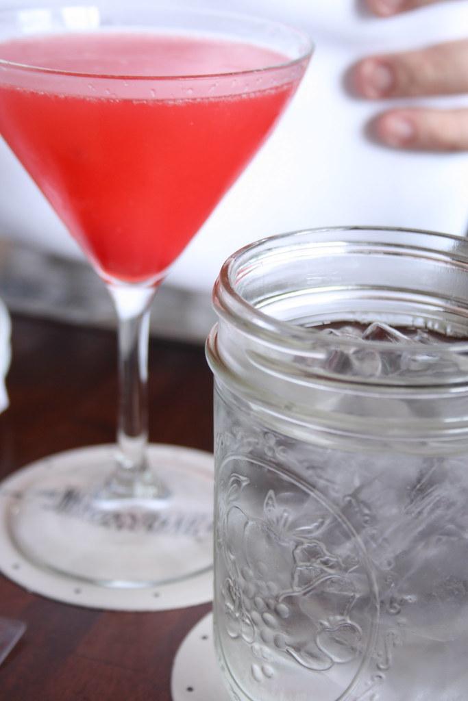 Martini & Water