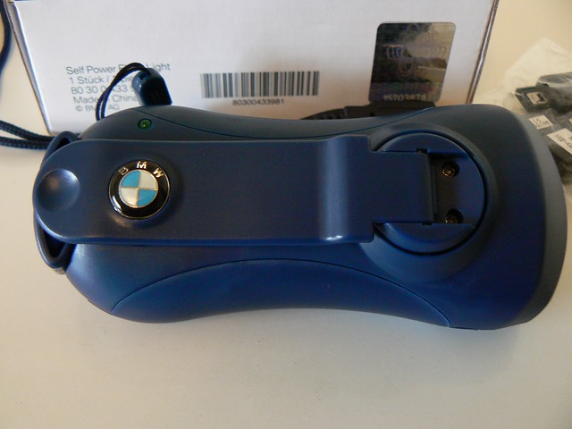 20090919 BMW Sauber crank flashlight logo by halfbyteproductions