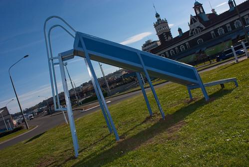 Strange Slide